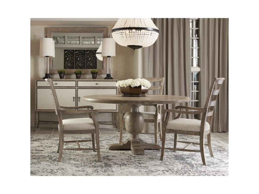 Bernhardt Rustic PatinaRound Dining Table