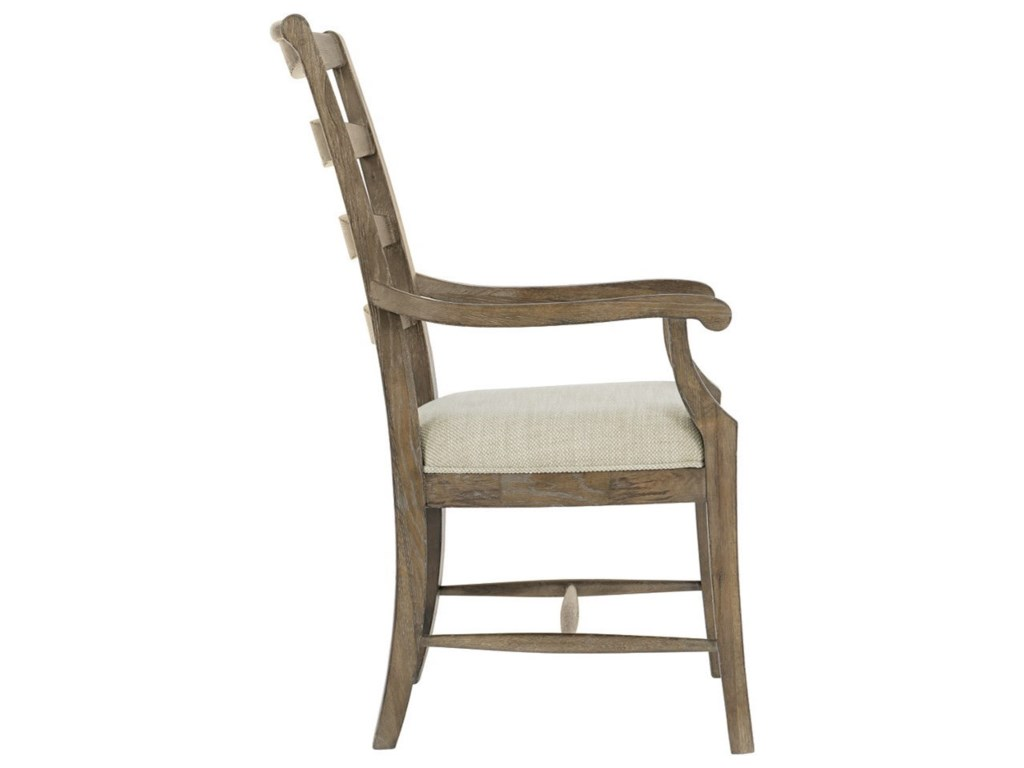 Bernhardt Rustic PatinaLadderback Arm Chair
