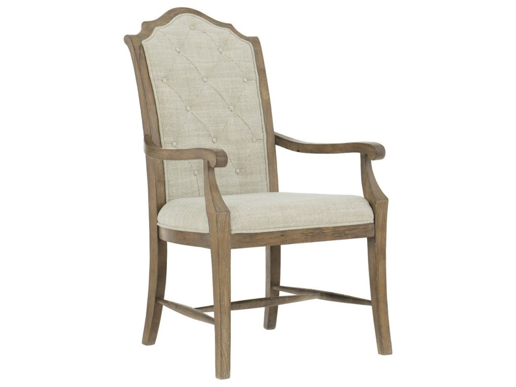 Bernhardt Rustic PatinaCustomizable Arm Chair