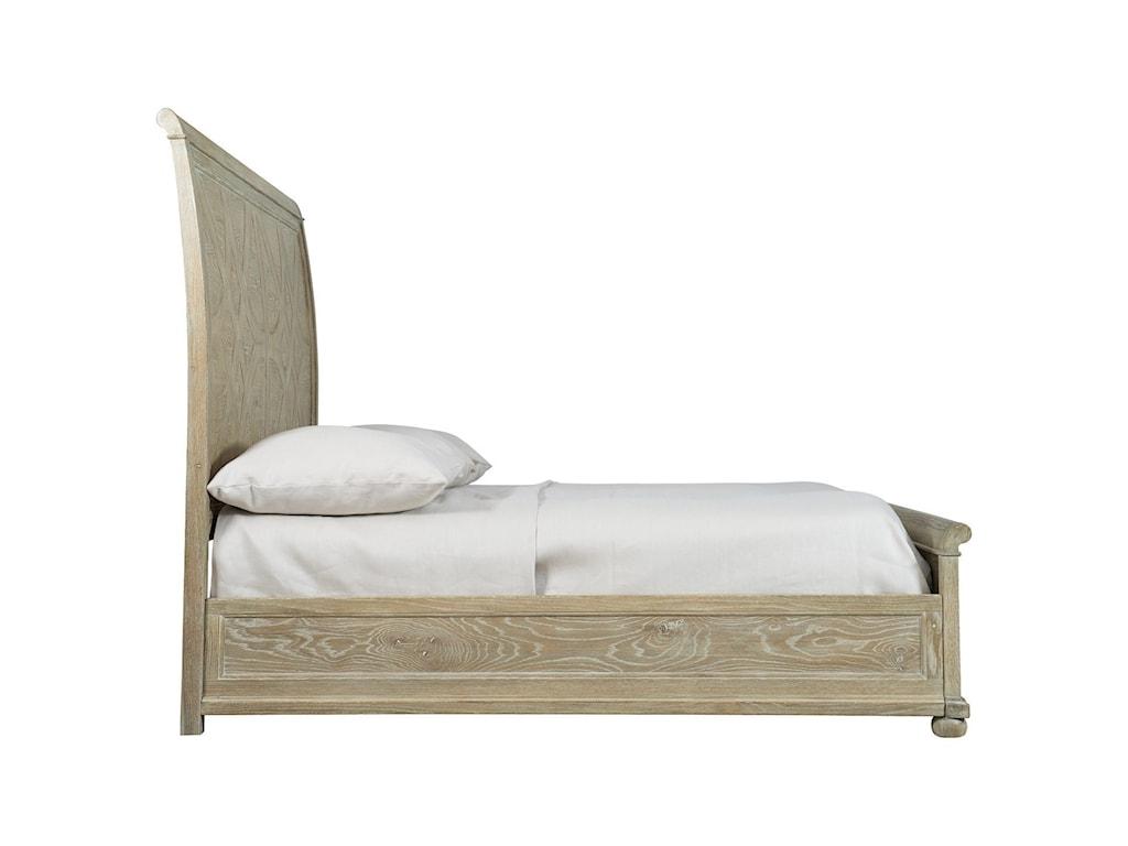 Bernhardt Rustic PatinaQueen Sleigh Bed