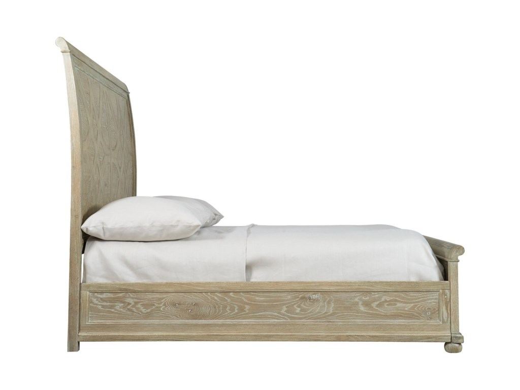 Bernhardt Rustic PatinaCalifornia King Sleigh Bed