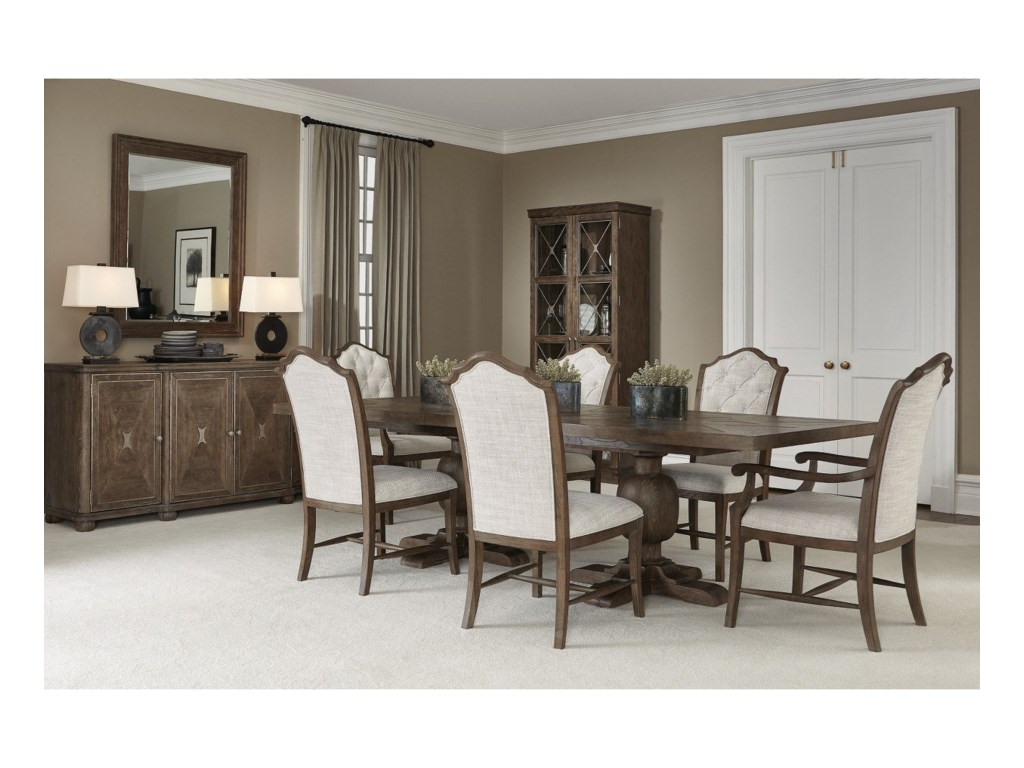 Bernhardt Rustic PatinaDining Room Group