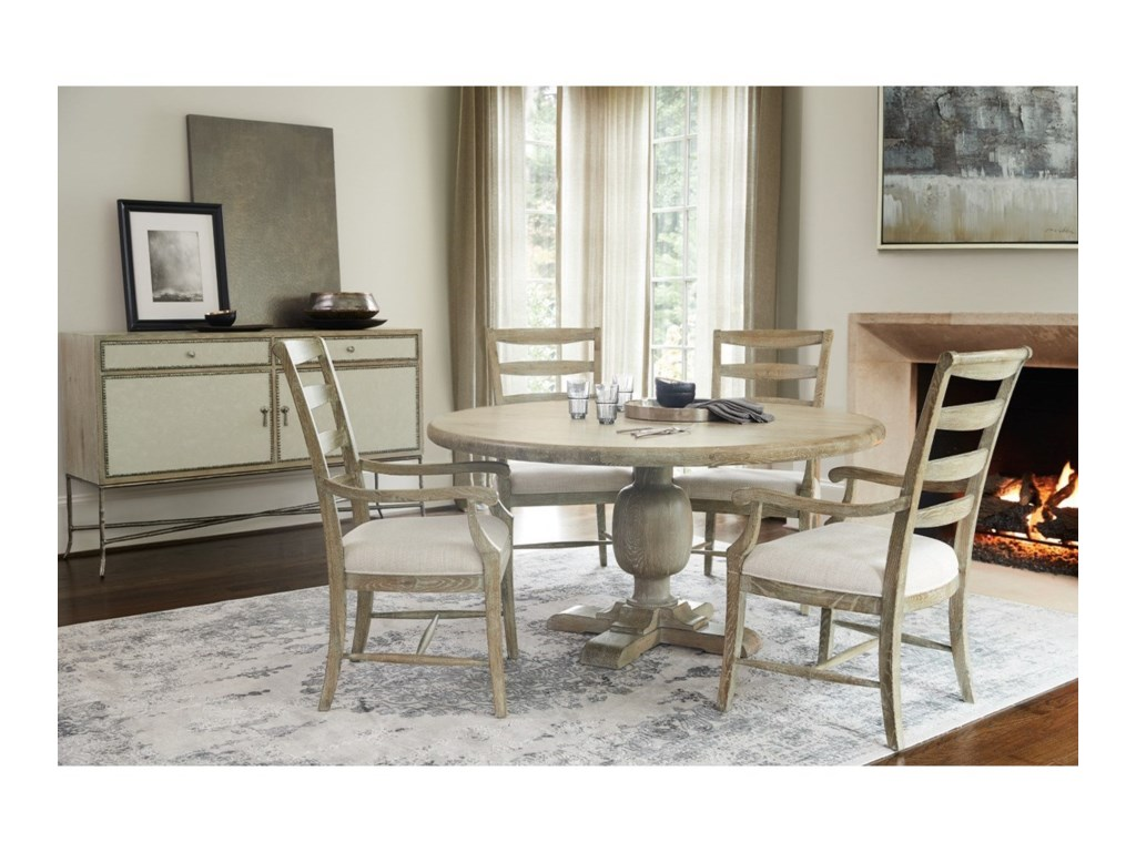 Rustic Patina Dining Room Group By Bernhardt