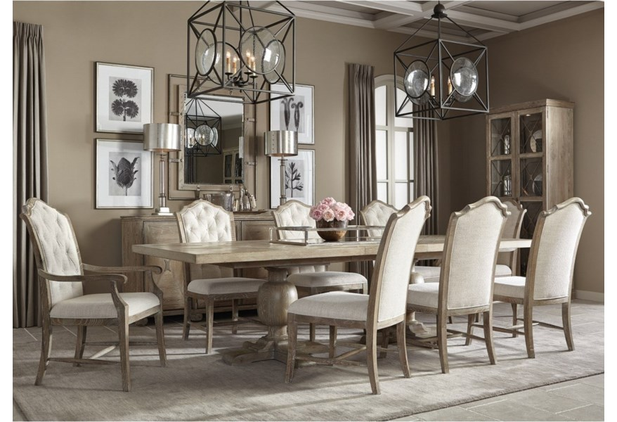 Rustic Patina Dining Room Group