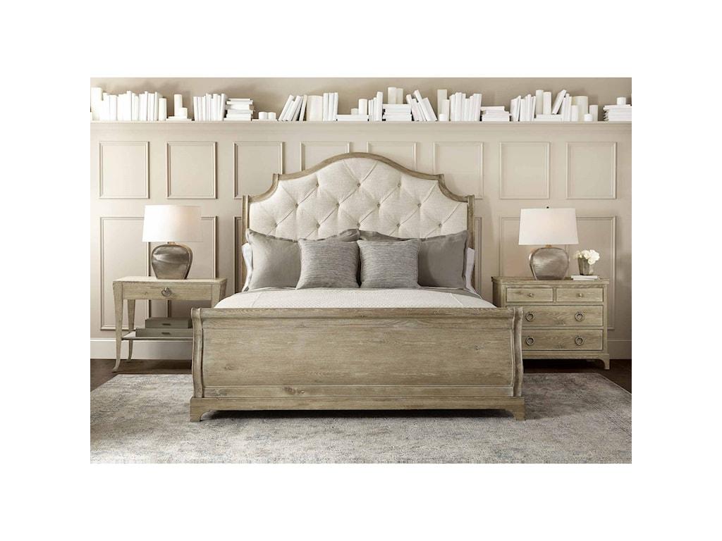 Bernhardt Rustic PatinaQueen Bedroom Group