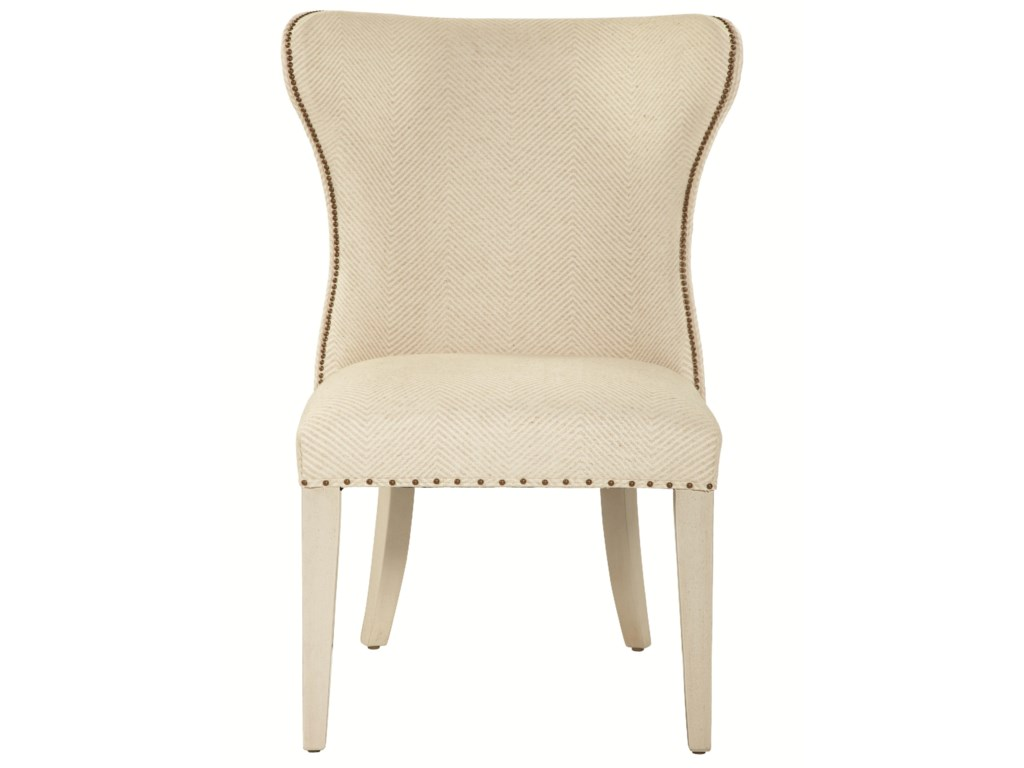 Set Includes Two Wing Back Dining Chairs