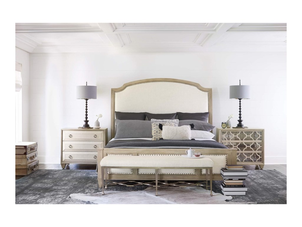 Bernhardt Santa BarbaraQueen Bedroom Group
