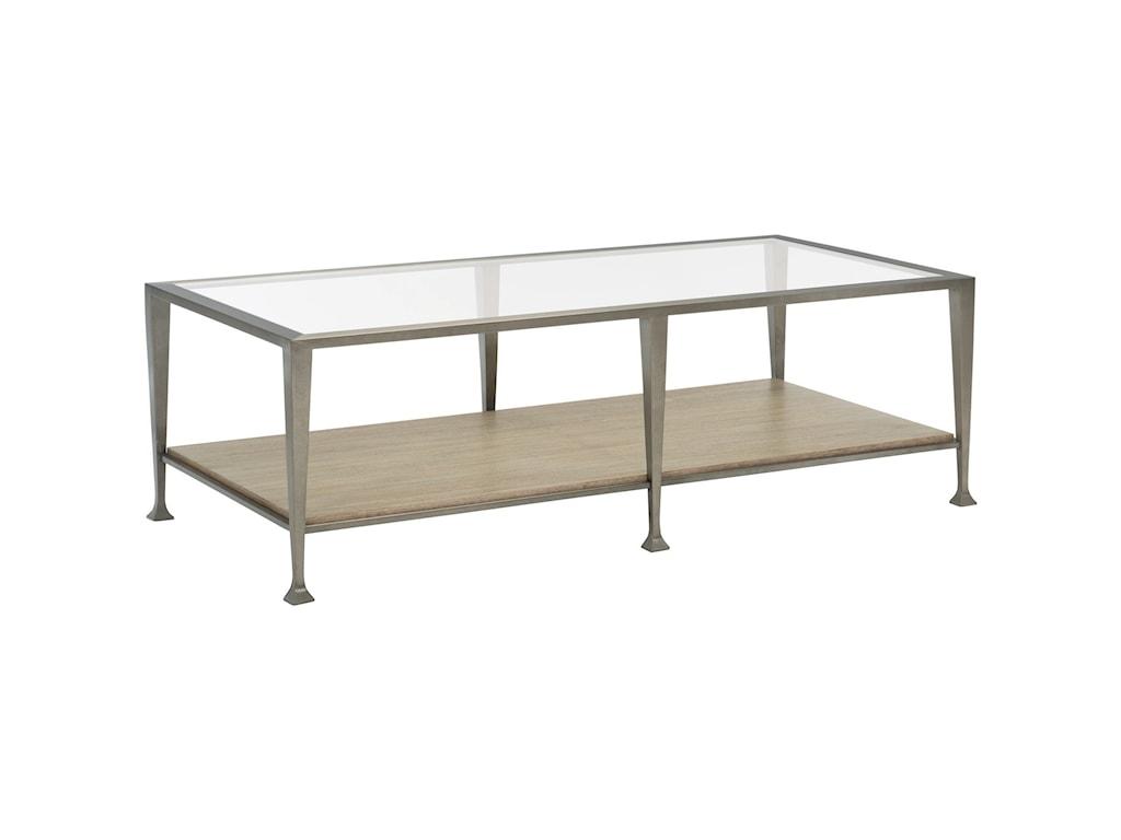 Bernhardt Santa BarbaraRectangular Metal Cocktail Table