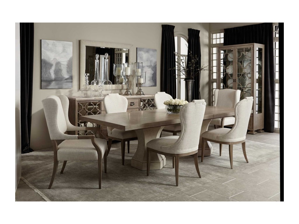 Bernhardt Santa Barbara7-Piece Table and Chair Set