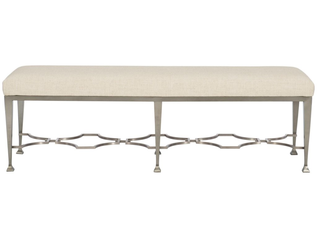 Bernhardt Santa BarbaraCustomizable Metal Bench