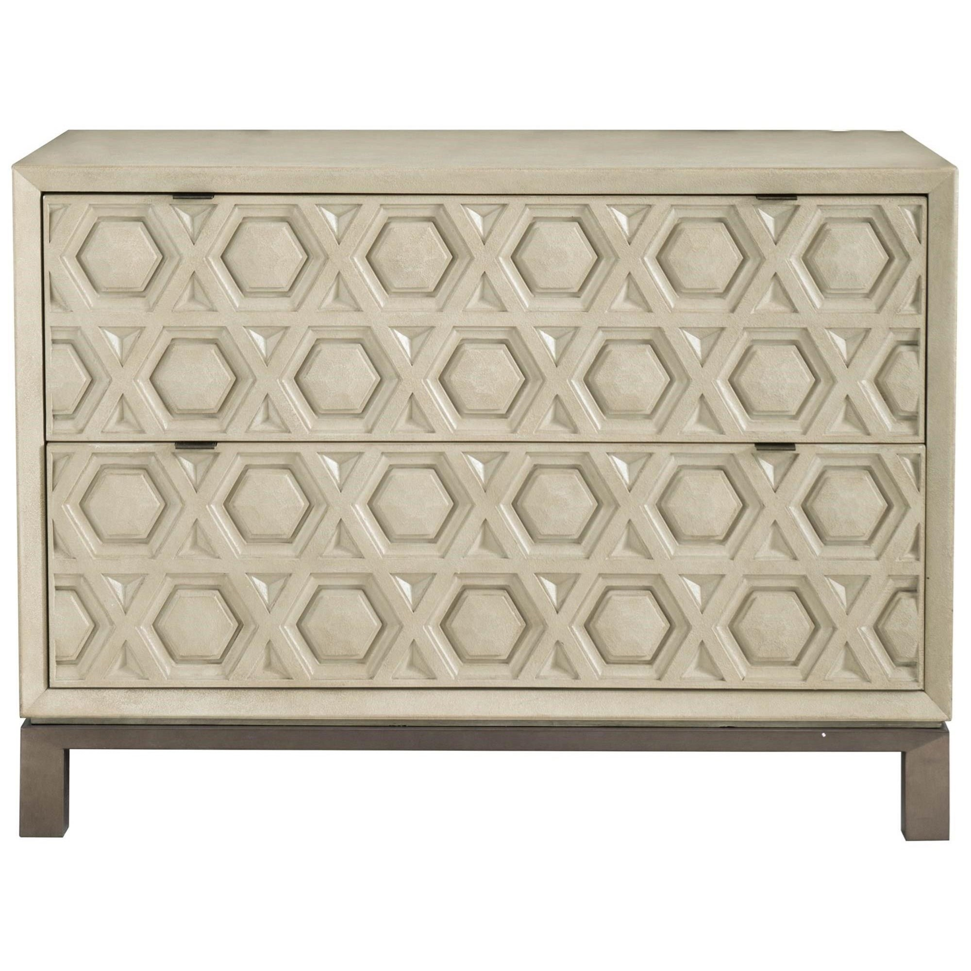 Transitional 2-Drawer Chest