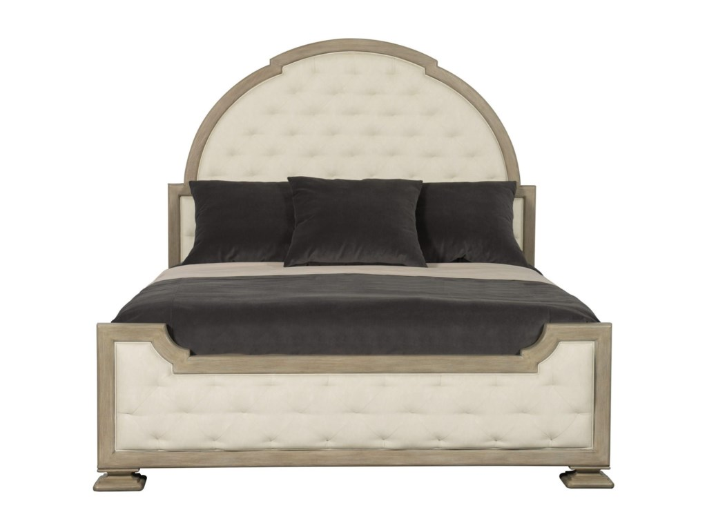 Bernhardt Santa BarbaraQueen Upholstered Panel Bed