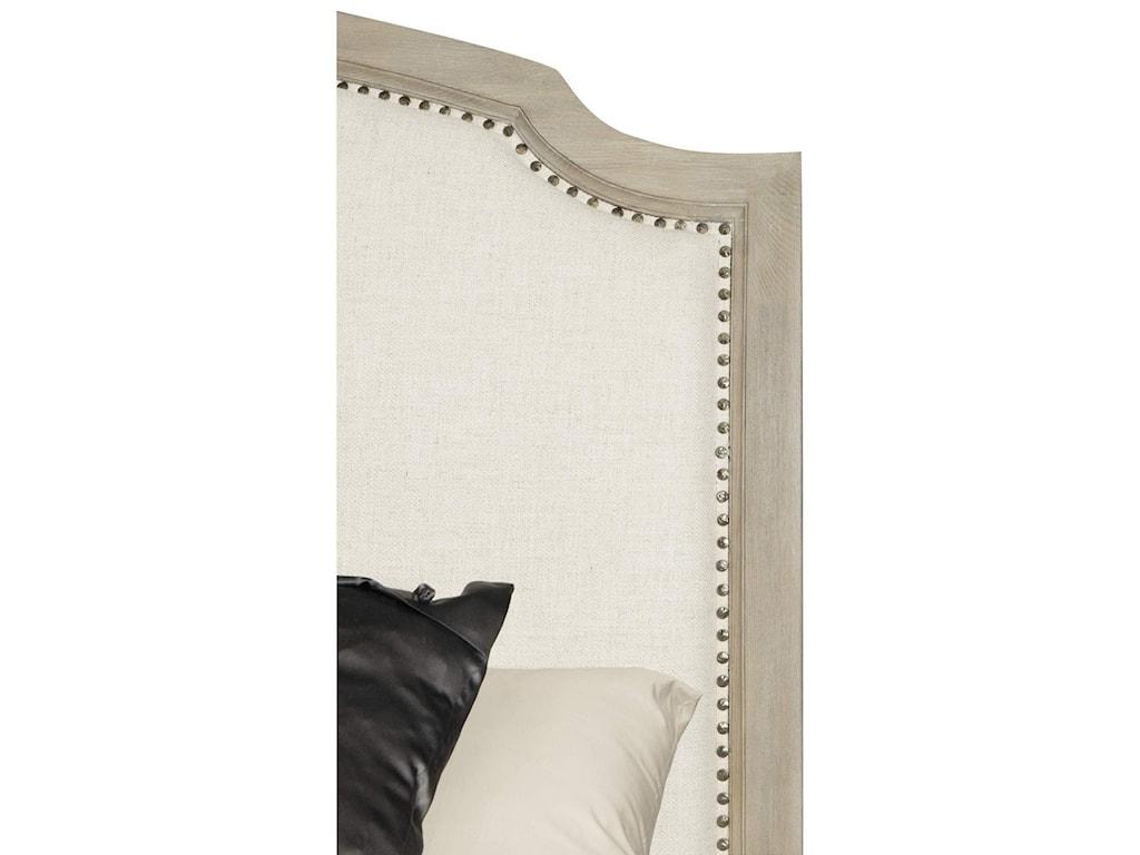 Bernhardt Santa BarbaraQueen Upholstered Sleigh Bed