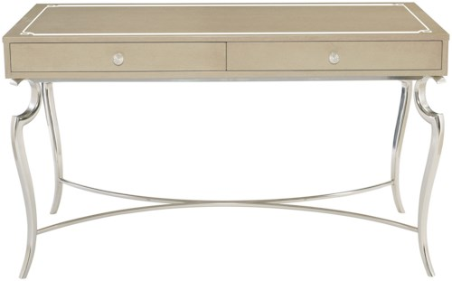 Bernhardt Savoy Place Desk with 2 Drawers