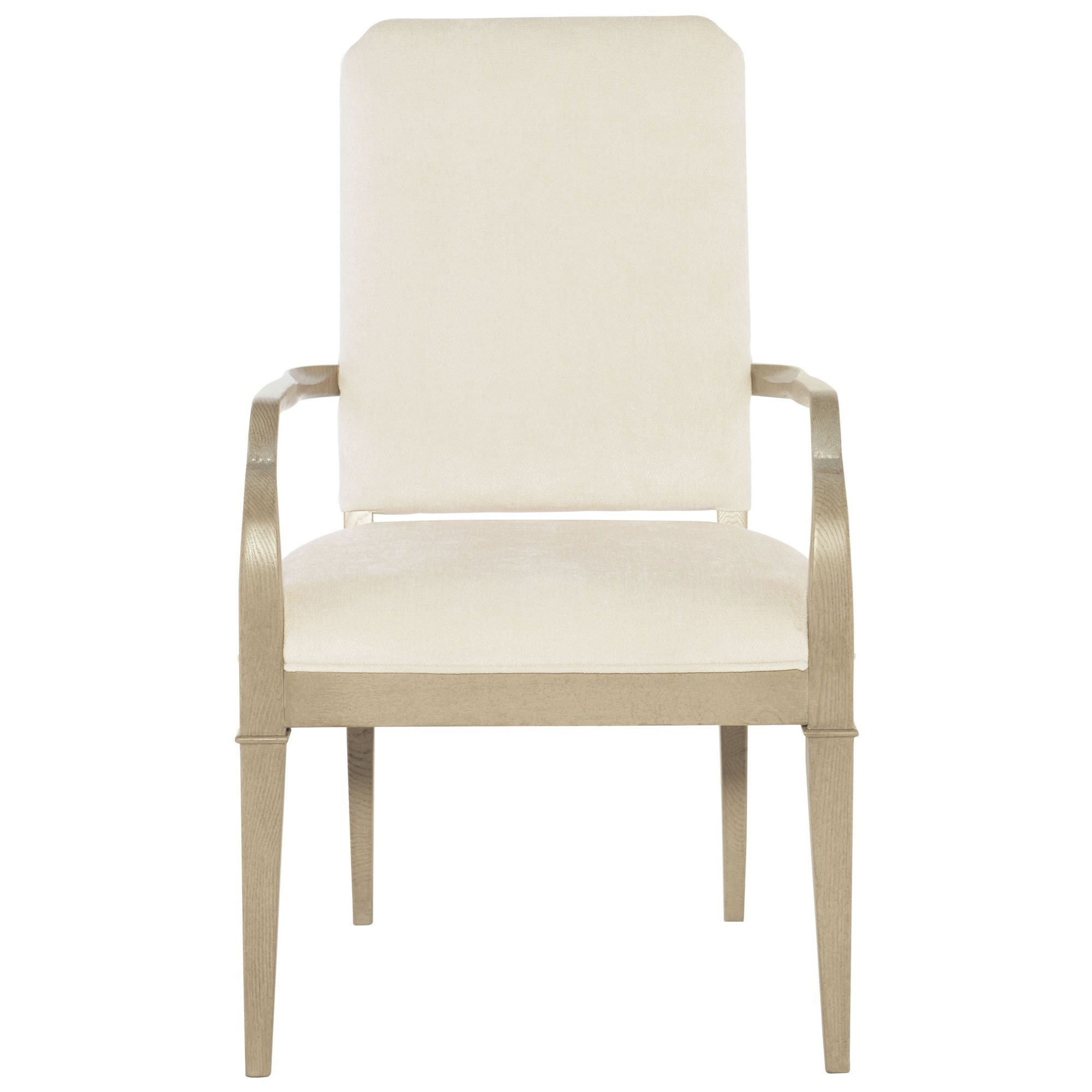 bernhardt savoy place upholstered arm chair with greek key design furniture dining arm chairs