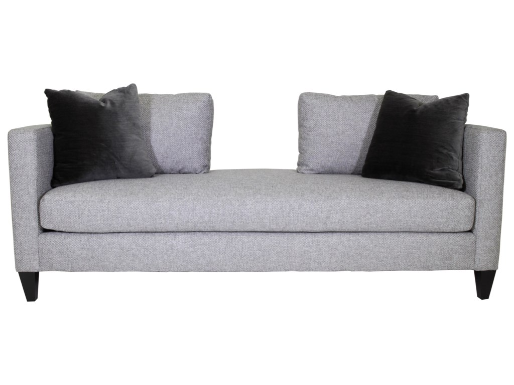 Bernhardt saxon contemporary chaise