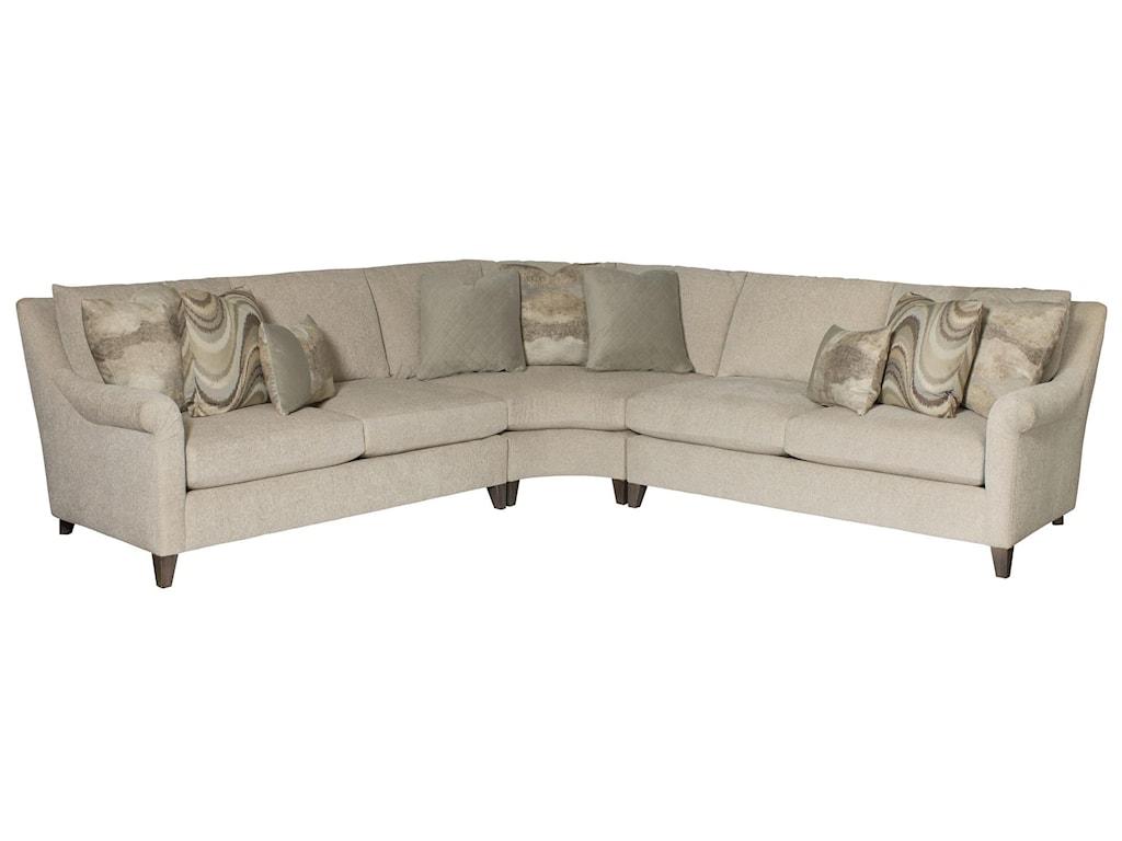 Bernhardt Sherman5 Seat Sectional Sofa