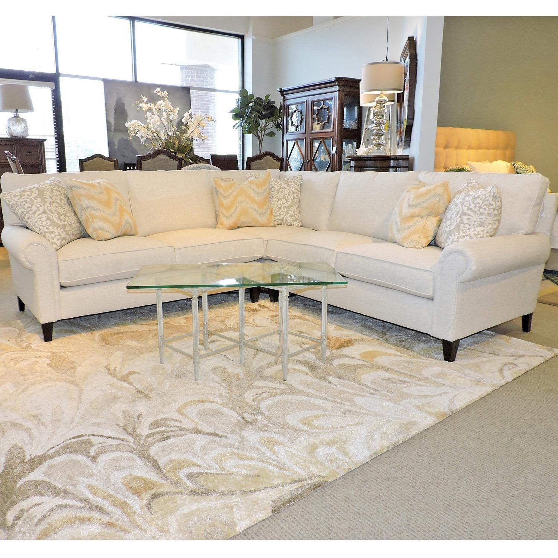 Modular Couch Pieces An Elegant Green Linen Modular Sofa With