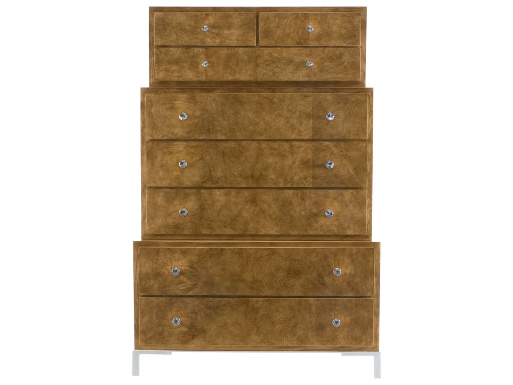 Bernhardt Soho LuxeModern Three-Tiered Tall Chest