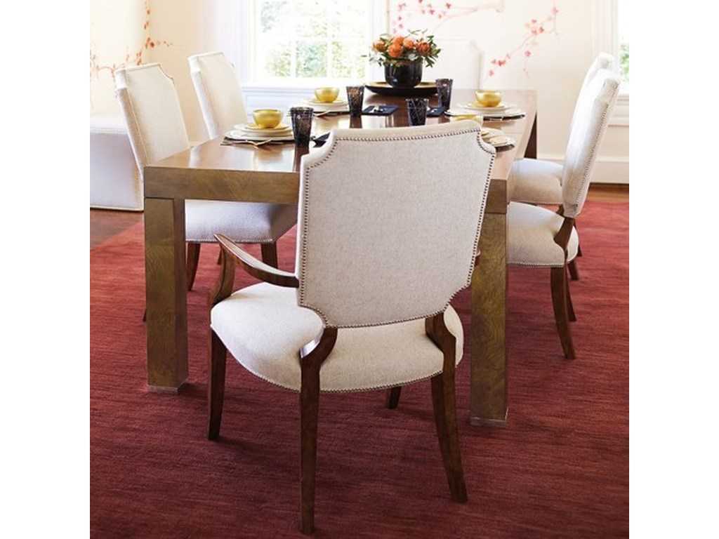 Bernhardt Soho LuxeTransitional Table and Chair Set