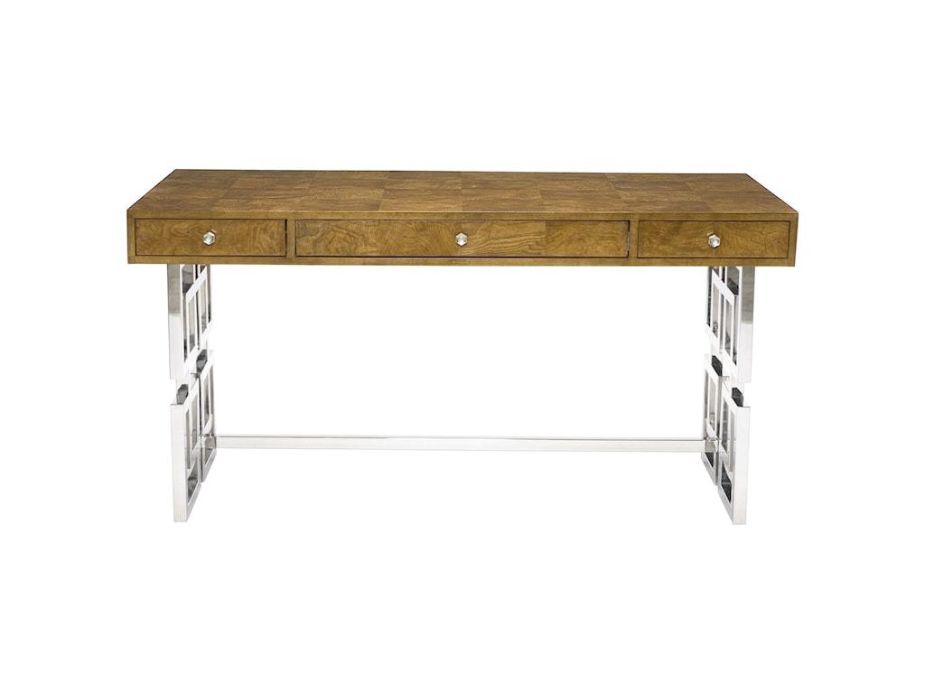 Bernhardt Soho LuxeModern 3-Drawer Desk