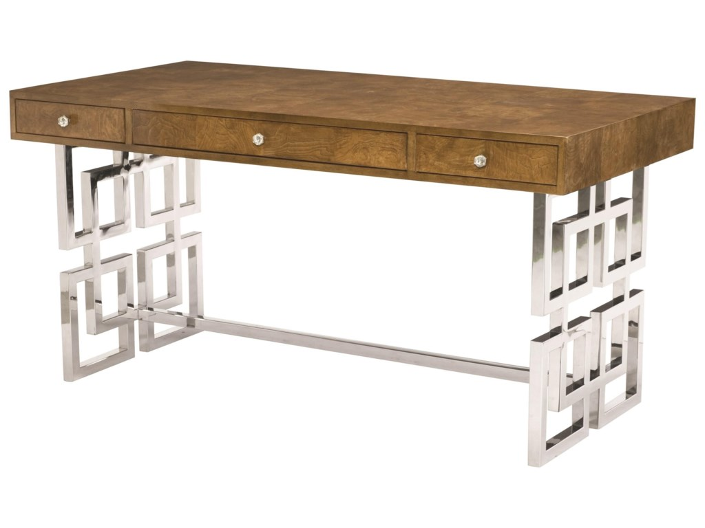 Bernhardt Soho LuxeModern 3-Drawer Desk