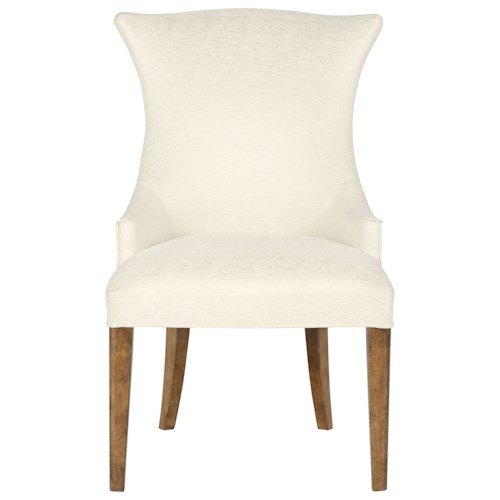 Bernhardt Soho Luxe Upholstered Arm Chair with Wing Back Design