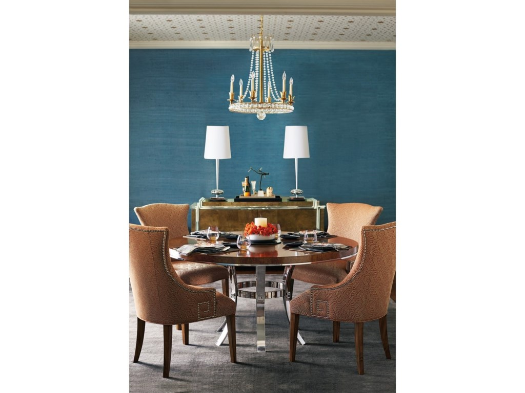 Bernhardt Soho LuxeModern Round Dining Table
