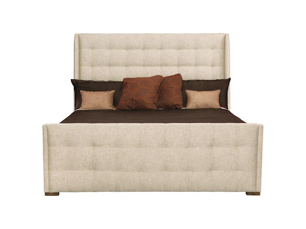 Bernhardt Soho LuxeQueen Upholstered Sleigh Bed