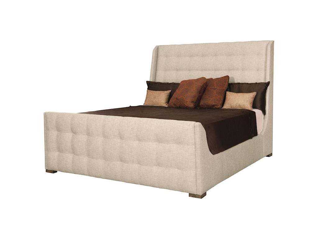 Bernhardt Soho LuxeCustomizable Sleigh Queen Bed