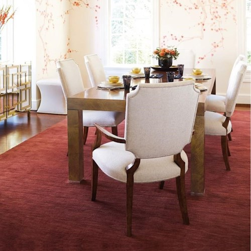 Bernhardt Soho Luxe Contemporary Dining Room Group