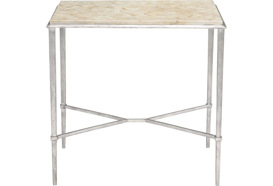Bernhardt Solange Side Table With Stone