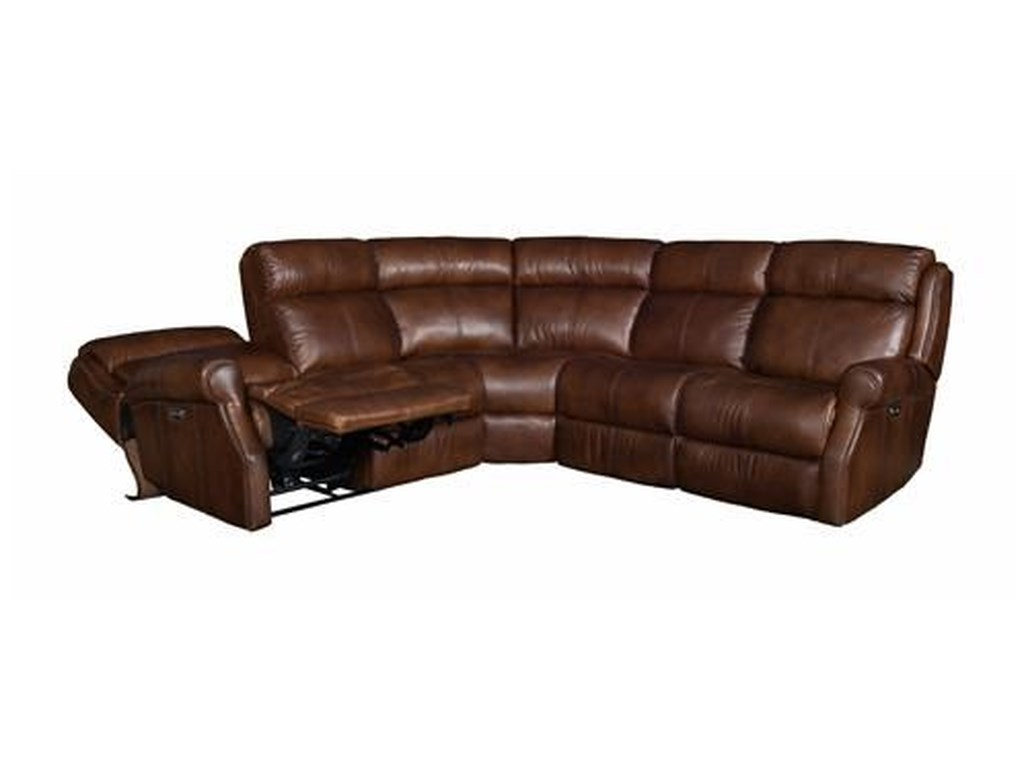 Bernhardt SPRINTZ BERFUReclining Sectional Sofa