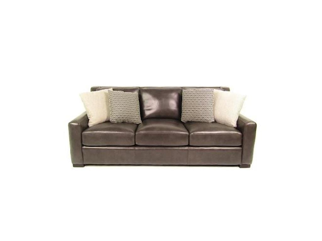 Bernhardt SPRINTZ BERFULeather Sofa