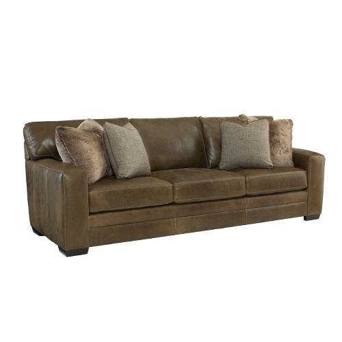 Bernhardt 723 Leather Sofa