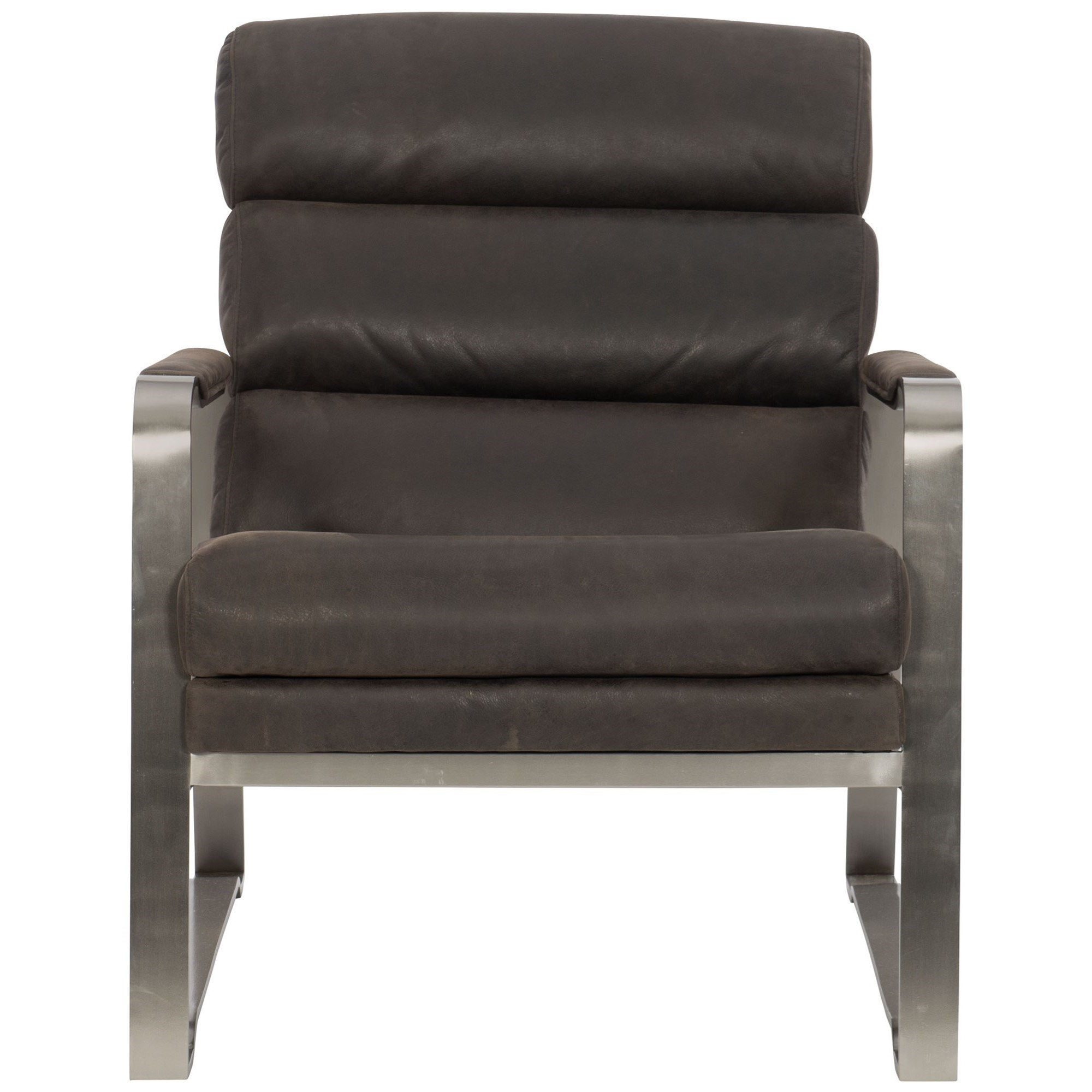 Bernhardt Stinson Upholstered Chair With Metal Frame | Louis Mohana  Furniture | Upholstered Chairs