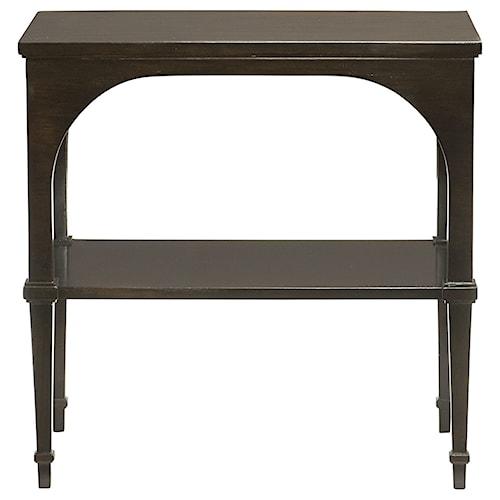 Bernhardt Sutton House End Table with Shelf