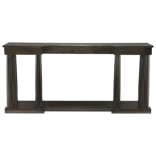 Bernhardt Sutton House Console Table with Base Shelf