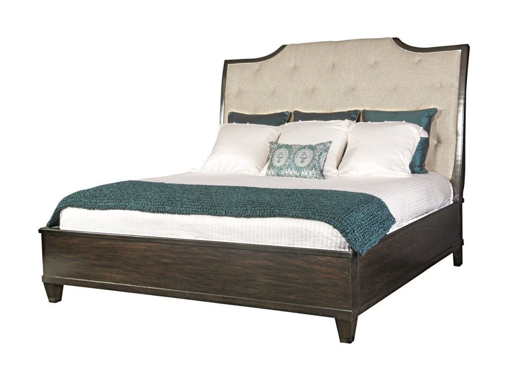 Bernhardt Sutton HouseQueen Upholstered Sleigh Bed