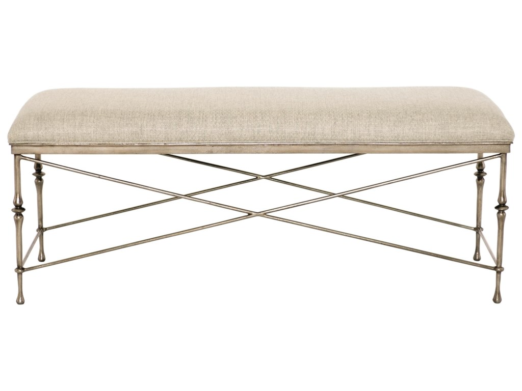 Bernhardt Sutton HouseCustomizable Metal Bench