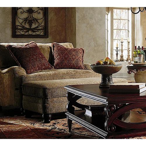 Bernhardt Tarleton Chair And A Half Belfort Furniture