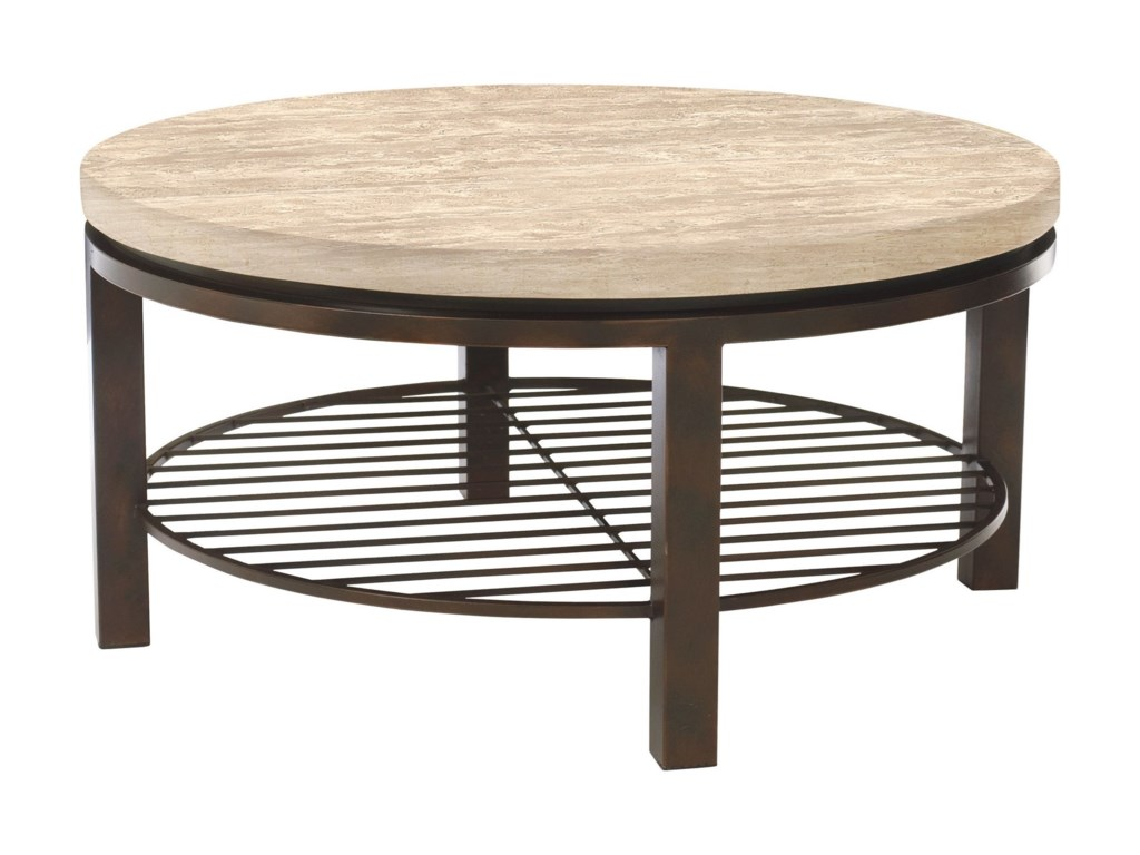 Bernhardt TempoRound Cocktail Table