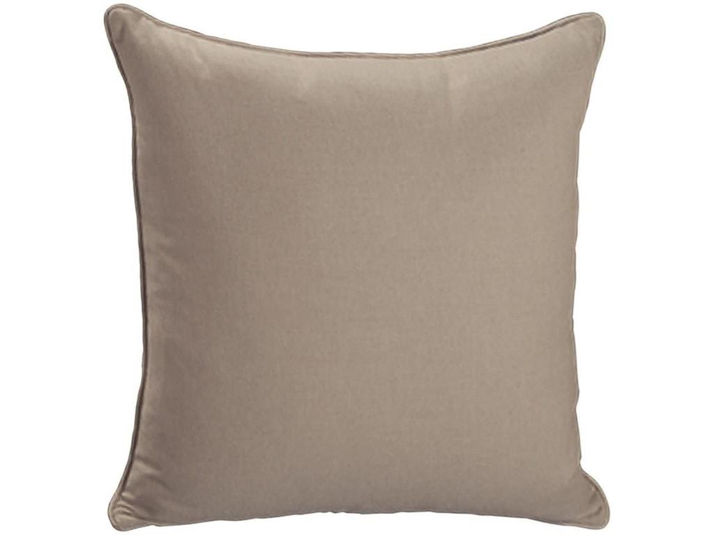 Bernhardt Throw PillowsKnife Edge Square w/welt (21