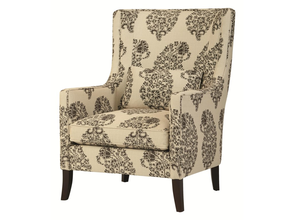 Wing chair bernhardt - Bernhardt Upholstered Accents Transitional Grantham Wing Chair In Modern Living Room Furniture Style Baer S Furniture Wing Chairs