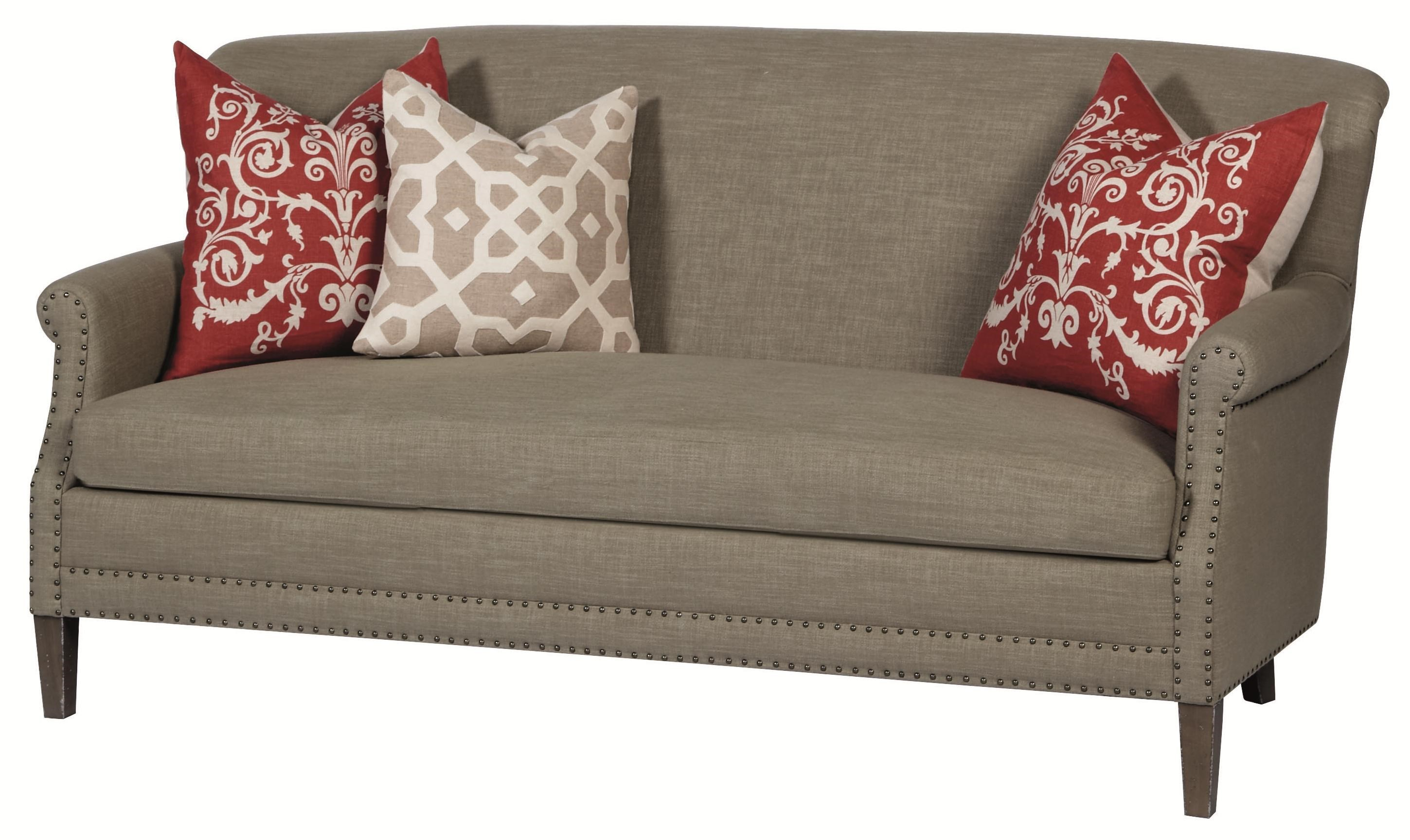 Bernhardt Upholstered Accents Transitional Styled Kitty Settee