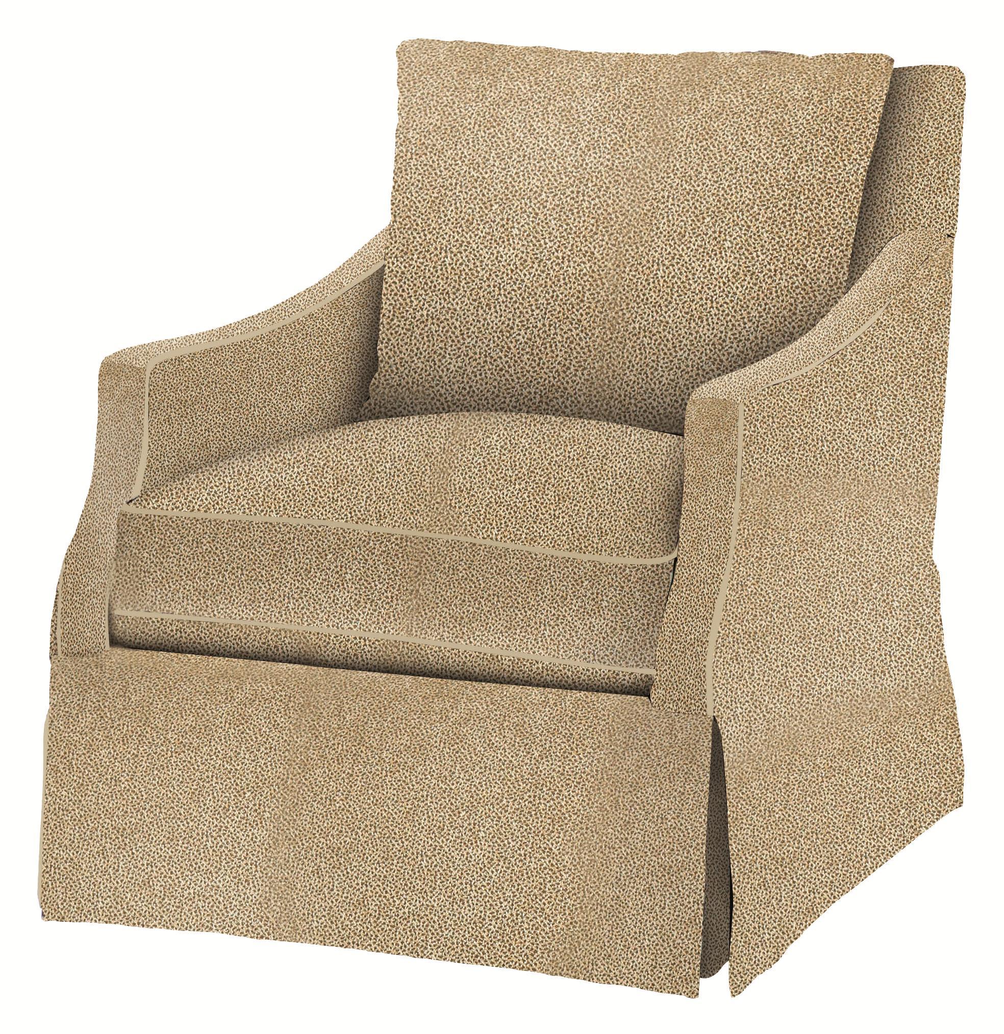 Bernhardt Upholstered AccentsReagan Swivel Chair