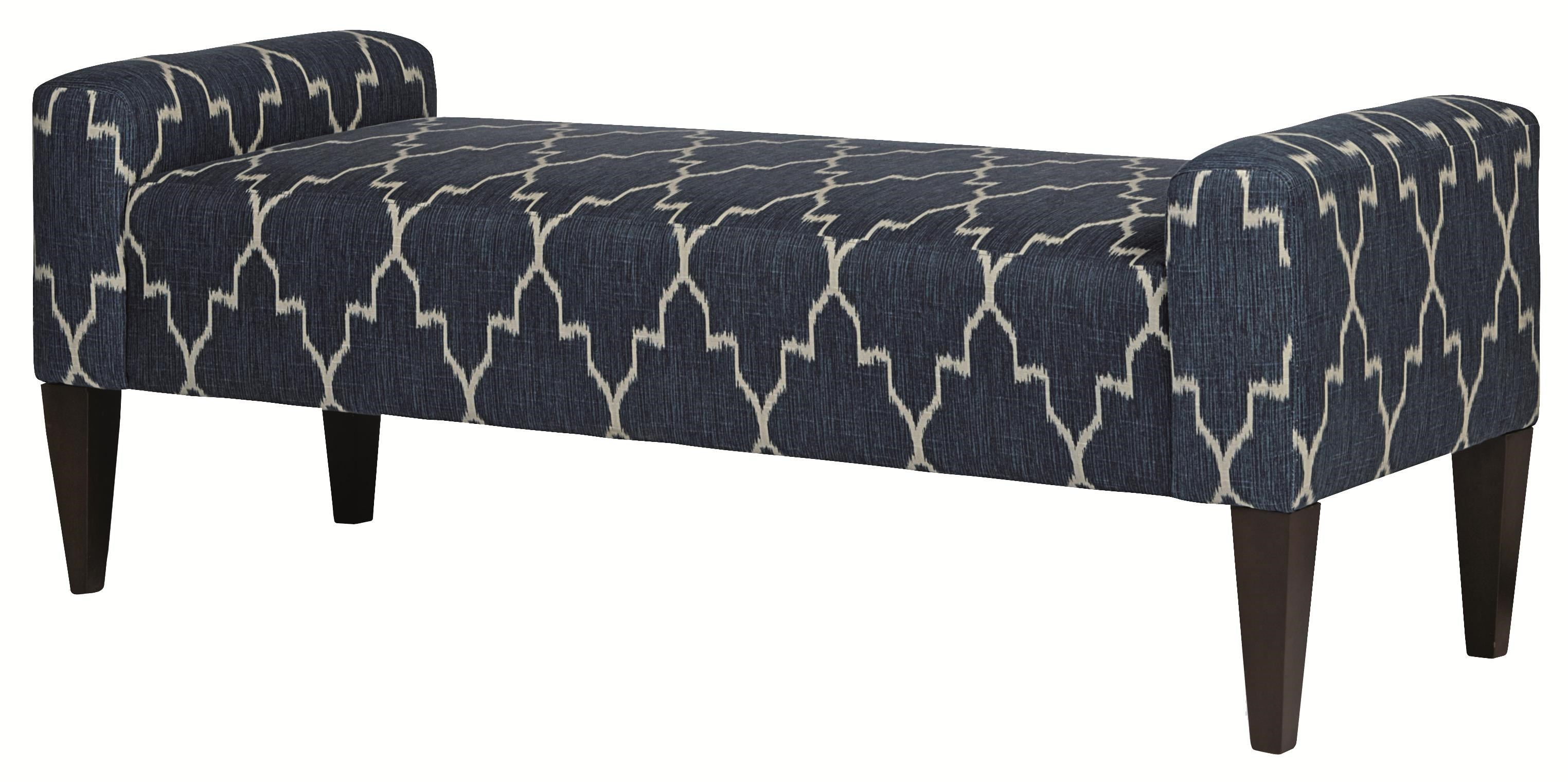 Bernhardt Upholstered Accents Sudbury High End Accent Bench in Transitional Furniture Style - Belfort Furniture - Upholstered Benches  sc 1 st  Belfort Furniture & Bernhardt Upholstered Accents Sudbury High End Accent Bench in ... islam-shia.org