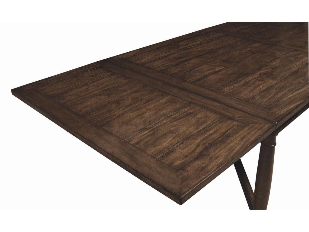 Alternative View of Table with End Leaf