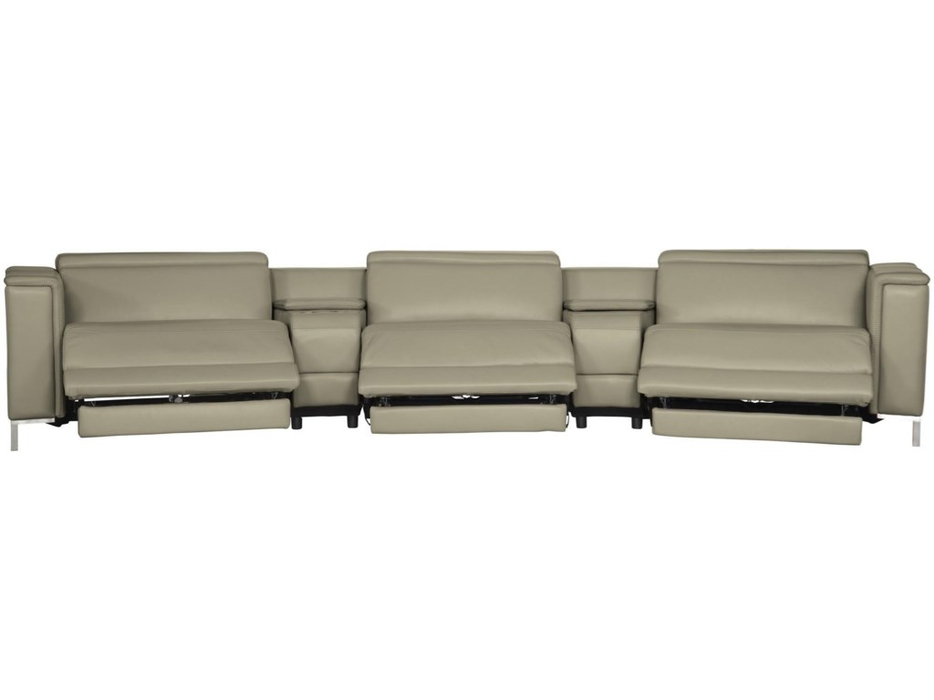 Bernhardt VittorioPower Motion Sectional