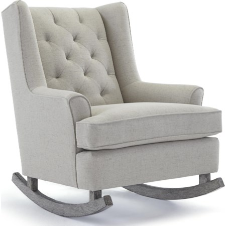 Paisley Rocking Chair